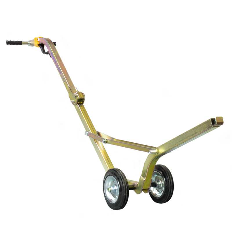 Manhole Buddy Steel Lifting Trolley (Unfolded)