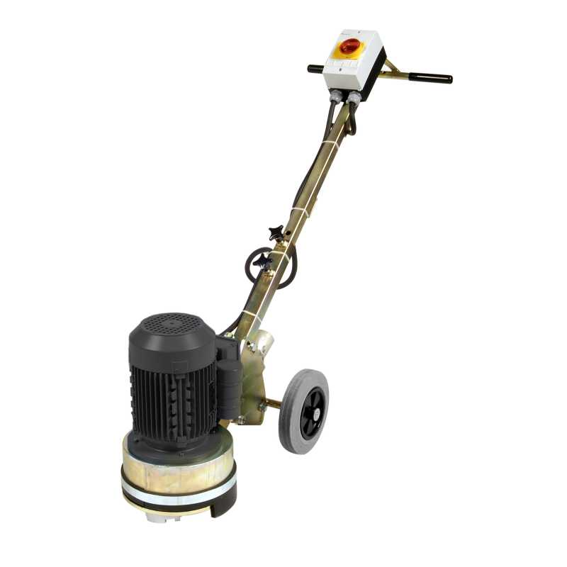 Alpha Concrete Floor Grinder with Drive Plate & Diamond Disk