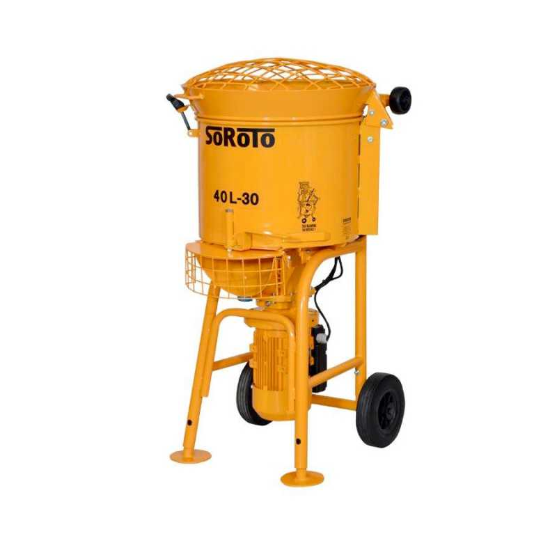 S40L 40 Litre single phase Forced Action Pan Mixer