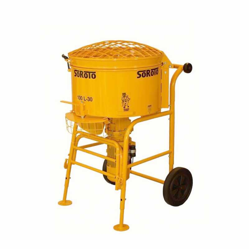 S100L 100 litre single phase Forced Action Pan Mixer