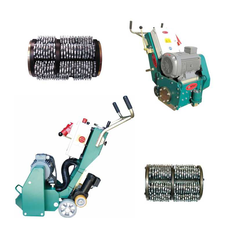 Scabbling/Planing Machines