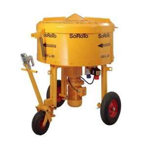 S300L 300 litre three phase Forced Action Pan Mixer