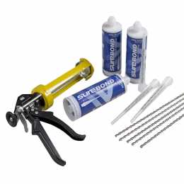 5 Bar Suretwist Crack Repair Kit - Polyester Resin
