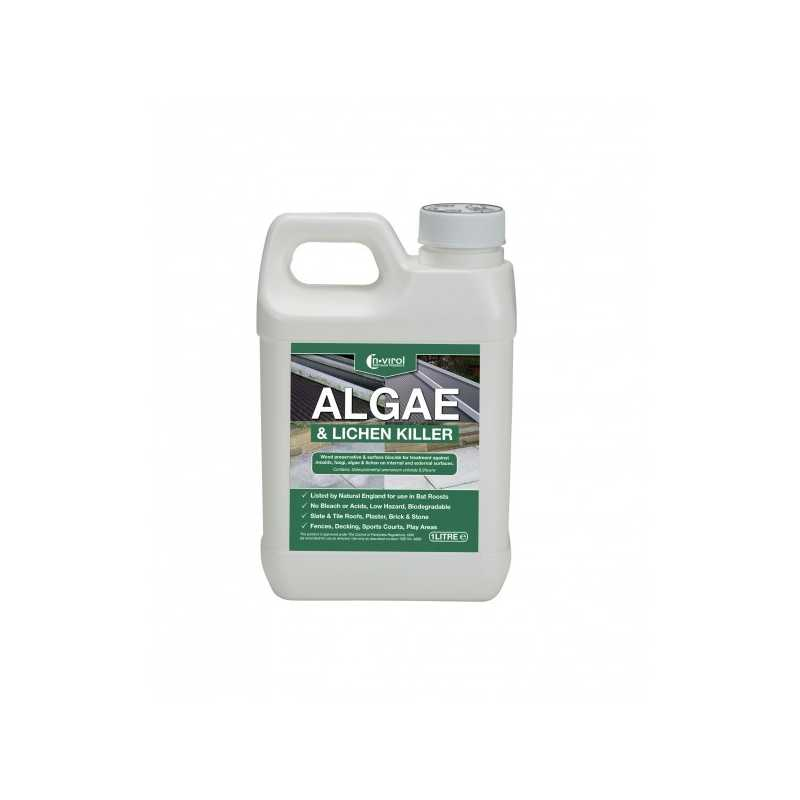 Nvirol Algae & Moss / Lichen Killer - Concentrate
