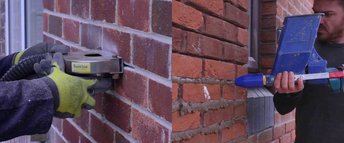 How To Pointing Repointing Brickwork Sunrise Tools